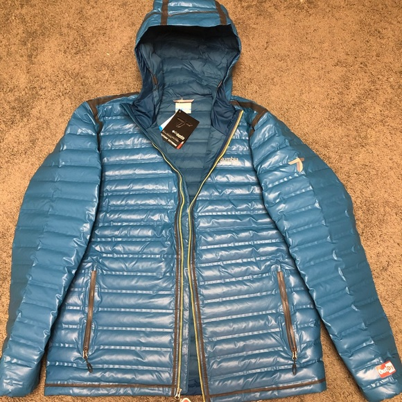 Outdry Ex Gold Down Hooded Jacket